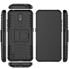 LN kuori tuella Nokia 1.3 black