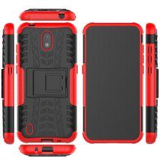 LN kuori tuella Nokia 1.3 red