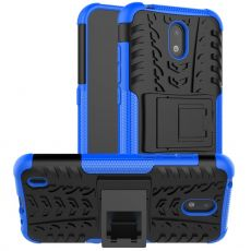 LN kuori tuella Nokia 1.3 blue