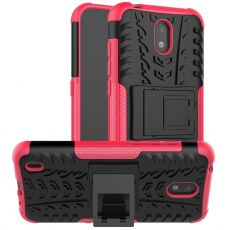 LN kuori tuella Nokia 1.3 rose