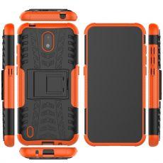 LN kuori tuella Nokia 1.3 orange