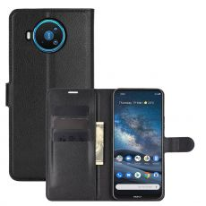 LN Flip Wallet Nokia 8.3 5G Black