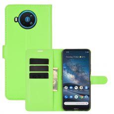 LN Flip Wallet Nokia 8.3 5G Green