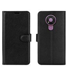 LN Flip Wallet Nokia 3.4 Black