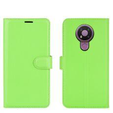 LN Flip Wallet Nokia 3.4 Green