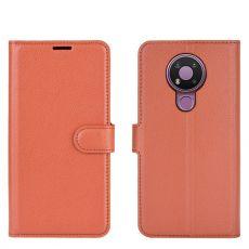 LN Flip Wallet Nokia 3.4 Brown