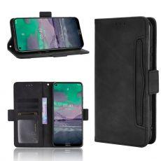 LN 5card Flip Wallet Nokia 3.4 Black