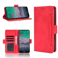 LN 5card Flip Wallet Nokia 3.4 Red