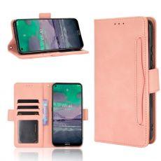 LN 5card Flip Wallet Nokia 3.4 Pink