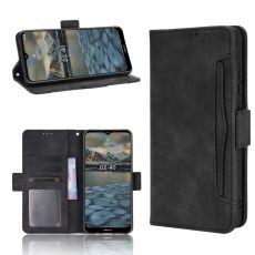 LN 5card Flip Wallet Nokia 2.4 Black