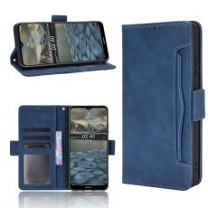 LN 5card Flip Wallet Nokia 2.4 Blue