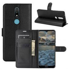 LN Flip Wallet Nokia 2.4 Black
