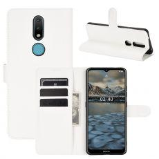 LN Flip Wallet Nokia 2.4 White