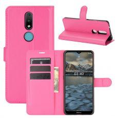 LN Flip Wallet Nokia 2.4 Rose