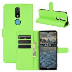LN Flip Wallet Nokia 2.4 Green