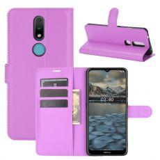 LN Flip Wallet Nokia 2.4 Purple