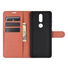 LN Flip Wallet Nokia 2.4 Brown