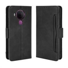 LN 5card Flip Wallet Nokia 5.4 Black