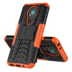 LN kuori tuella Nokia 3.4 orange