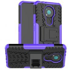 LN kuori tuella Nokia 3.4 purple