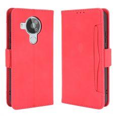 LN 5card Flip Wallet Nokia 7.3 red