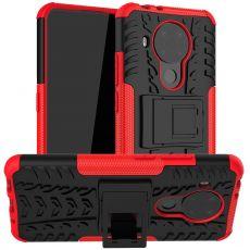 LN suojakuori tuella Nokia 5.4 red