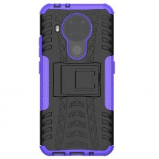 LN suojakuori tuella Nokia 5.4 purple
