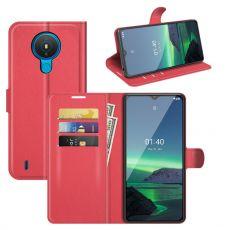 LN Flip Wallet Nokia 1.4 red