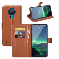 LN Flip Wallet Nokia 1.4 brown