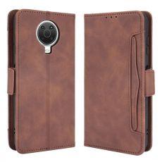 LN 5card flip wallet Nokia G10/G20 brown
