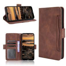 LN 5card Flip Wallet Nokia 1.4 brown
