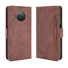 LN 5card Flip Wallet Nokia X10/X20 brown
