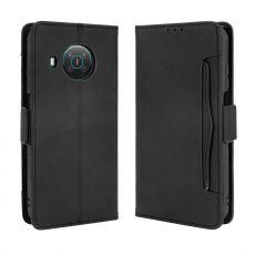 LN 5card Flip Wallet Nokia X10/X20 black
