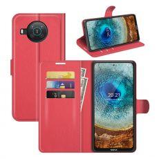 LN Flip Wallet Nokia X10/X20 red