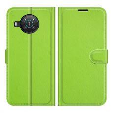 LN Flip Wallet Nokia X10/X20 green