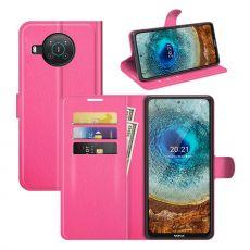 LN Flip Wallet Nokia X10/X20 rose