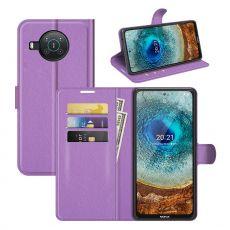 LN Flip Wallet Nokia X10/X20 purple