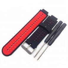 Luurinetti ranneke silikoni Forerunner 235/735XT black/red