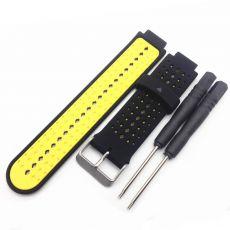 Luurinetti ranneke silikoni Forerunner 235/735XT black/yellow