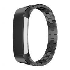 Luurinetti ranneke metalli Fitbit Alta HR black