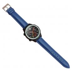 Luurinetti Huawei Watch 2 vaihtoranneke nahka blue