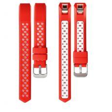 LN ranneke silikoni Fitbit Alta HR red/white