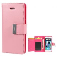 Goospery iPhone 5/5S/SE Rich-kotelo pink