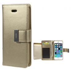 Goospery iPhone 5/5S/SE Rich-kotelo gold