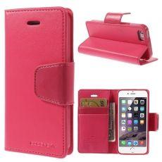Goospery iPhone 5/5S/SE Sonata-kotelo red