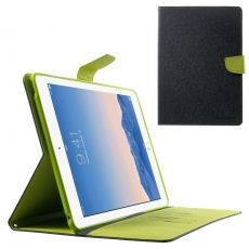 Goospery Apple iPad Air 2 suojakotelo black/green