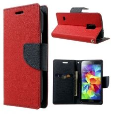 Luurinetti Galaxy S5 mini suojakotelo II red/black