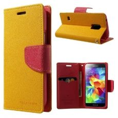 Luurinetti Galaxy S5 mini suojakotelo II yellow/red