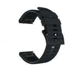 LN ranneke silikoni Fenix 5/5 Plus/935/945 black