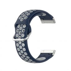 LN ranneke silikoni Fitbit Sense/Versa 3 blue/grey